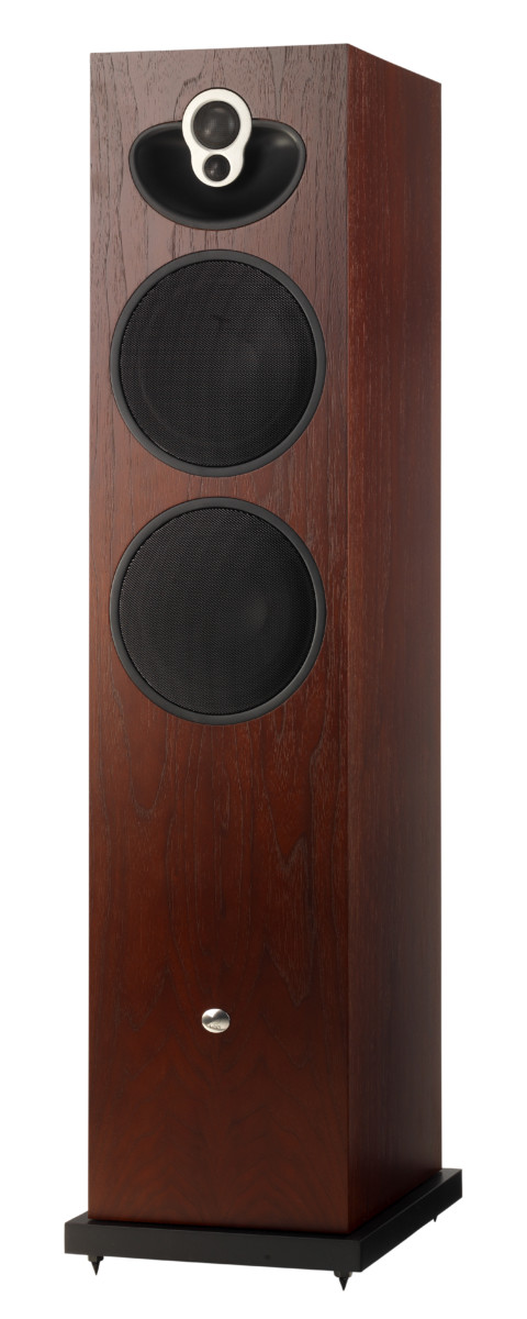 Linn Majik 140 Rosenholz Vorderseite- High End Audio Lautsprecher Boxen