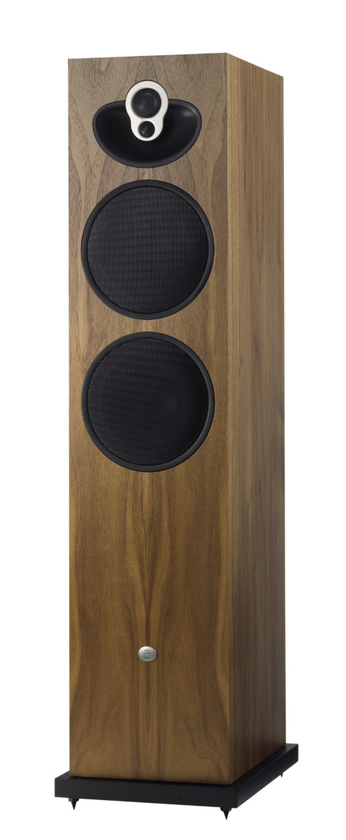 Linn Majik 140 Walnuss Vorderseite- High End Audio Lautsprecher Boxen