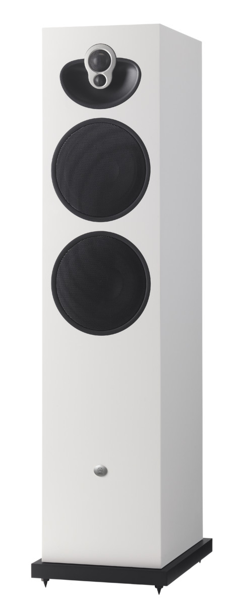 Linn Majik 140 High End Lautsprecher Boxen Weiss von vorne - High End Audio