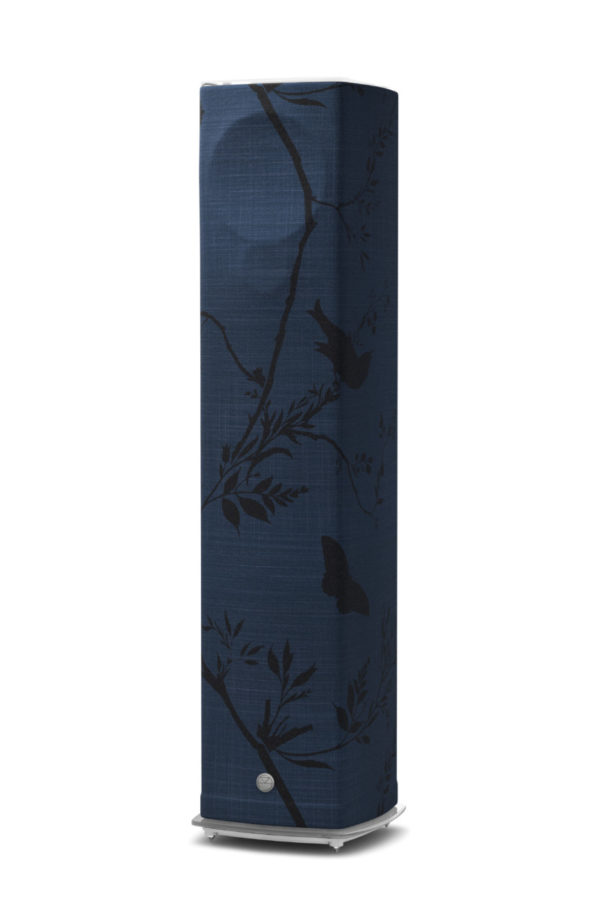 Linn High End Lautsprecher 520 Überzug Birdbranch Blueberry