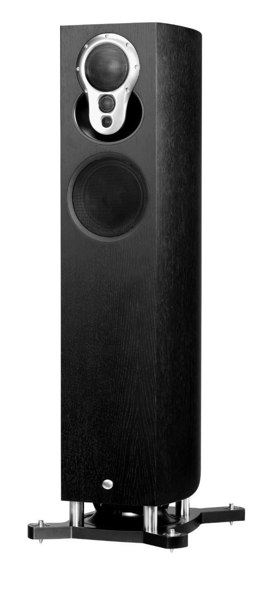 Linn Akubarik Exakt Lautsprecher schwarz matt- High End Audio Boxen