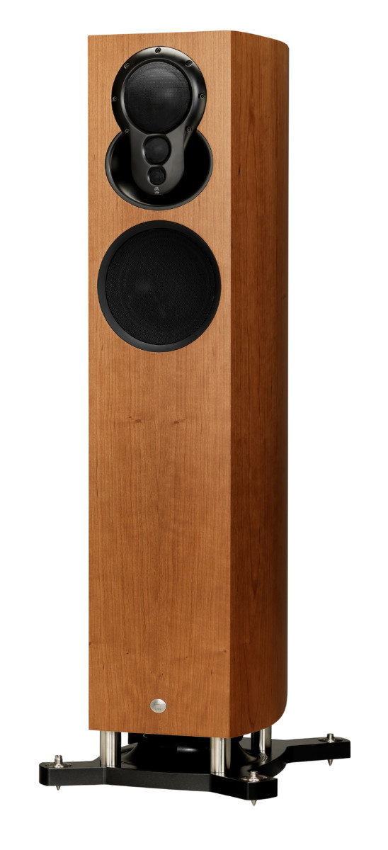 Linn Akubarik Exakt Lautsprecher Kirsche- High End Audio Boxen