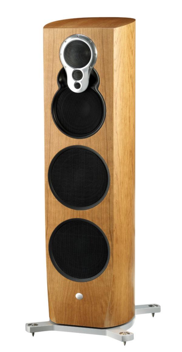 Linn Klimax 350 A Lautsprecher high end audio kirschholz von vorne