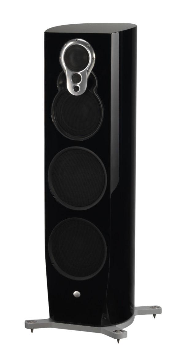 Linn Klimax 350 A Lautsprecher high end audio schwarz von vorne