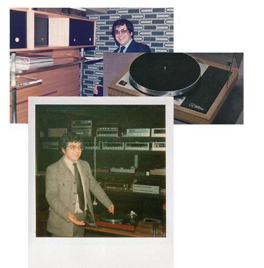 Ivor Tiefenbrun, Gründer von Linn mit dem legendären Plattenspieler LP 12