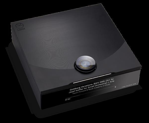 Linn Audio Klimax DSM 2021 High End Audio Streamer und Verstärker Front Display